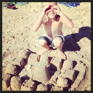 Sandcastle With L