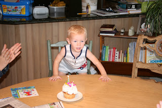 Lincoln first birthday 2