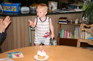 Lincoln first birthday